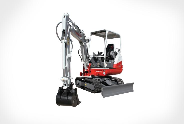 Takeuchi TB230 Compact Excavator